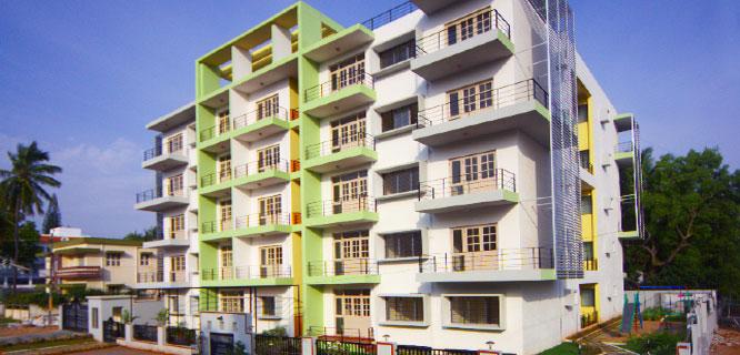 Damden Beryl Apartments in VV Mohalla, Mysore