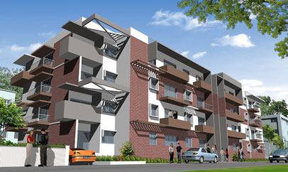 Damden City Square - Apartments Sale in Bannimantap, Mysore