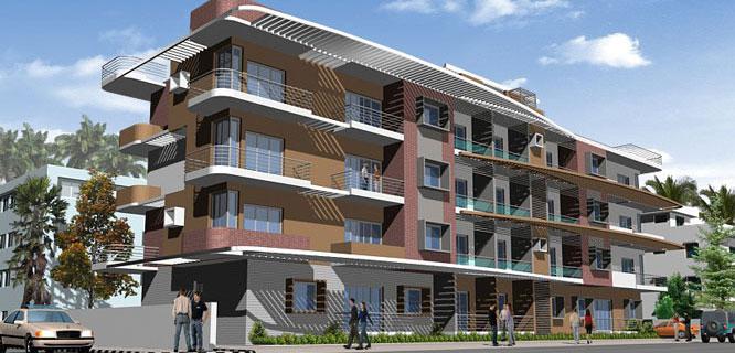 Damden Arbor Apartments in Kuvempunagar, Mysore