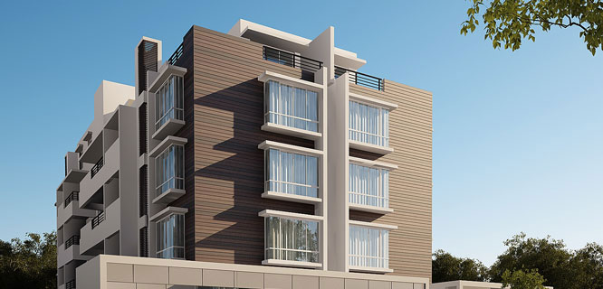 Damden Centrum Fully Automated 2 BHK Apartments in Bangalore
