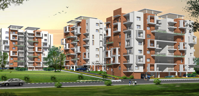 Damden Solarium Luxury 2/3 BHK Apartments in Mysore